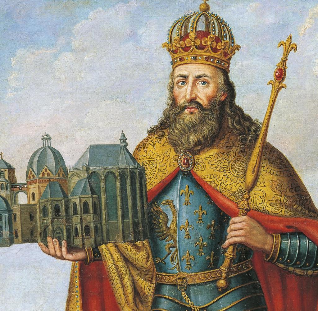 Schlacht Karls dem Großen