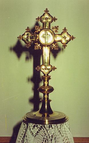 Partikel des hl. Kreuzes erreicht Godelheim